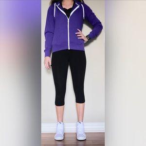 Purple Nike zip up, worn very little